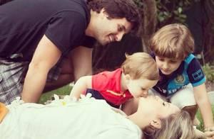 Claudia Leitte comemora boa fase e elogia os filhos: 'Não sou nada sem eles'