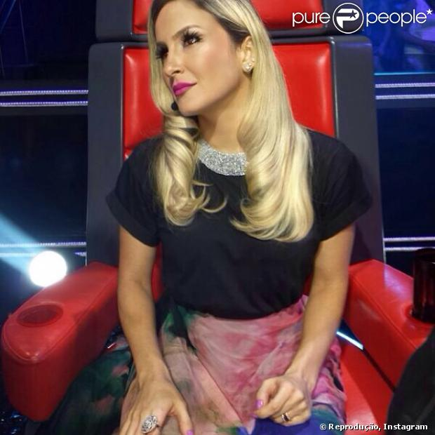 c9a8c8806322b Claudia Leitte falou comparou a final do  The Voice Brasil  com a Copa do