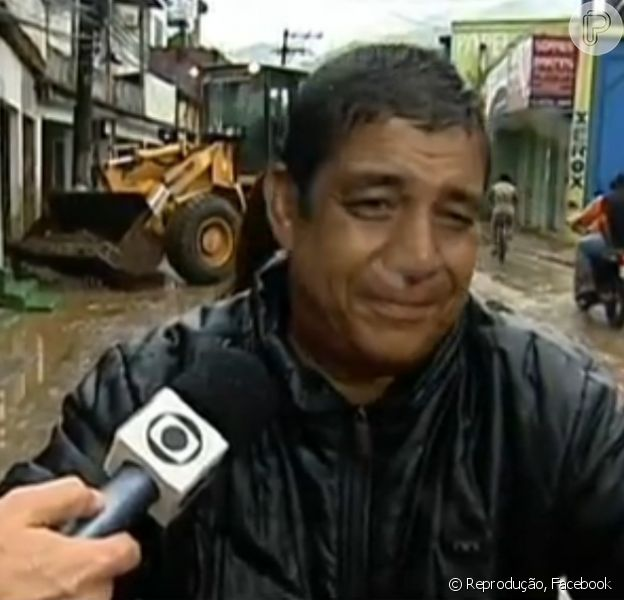 Zeca Pagodinho se emociona em entrevista ao falar da tragédia em Xerém, na Baixada Fluminense