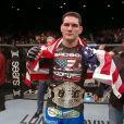 Chris Weidman venceu a luta contra Anderson Silva no último sábado, 28 de dezembro de 2013 no UFC 168