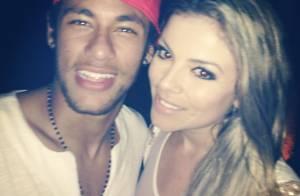 Loira flagrada com Neymar na noite de réveillon nega romance com o jogador