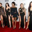 Veja o estilo de Dinah Jane Hansen, Lauren Jauregui, Normani Hamilton, Ally Brooke e Camila Cabello, do grupo Fifth Harmony, no tapete vermelho da 44ª edição do American Music Awards 2016, na noite deste domingo, 20 de novembro de 2016