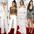 Veja o estilo de Lady Gaga, Ariana Grande e mais famosas no tapete vermelho da 44ª edição do American Music Awards 2016, na noite deste domingo, 20 de novembro de 2016