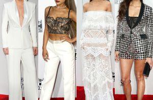 Veja os looks de Lady Gaga, Ariana Grande e mais famosas no AMAs 2016. Fotos!