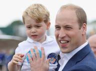Príncipe William brinca sobre personalidade do filho, George:'Um pouco malandro'