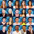 Os 20 participantes do Big Brother Brasil 14 foram divulgados nesta terça-feira (07 de janeiro de 2014)