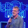 Pedro Bial segue no comando da apresentação do 'Big Brother Brasil'