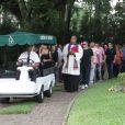 O enterro de Marly Marley foi realizado no cemitério do Morumbi, em São Paulo