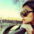 Isabelle Drummond está de férias pela Europa e tem postado fotos da viagem em sua página do Instagram