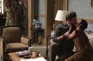'Joia Rara': Toni (Thiago Lacerda) passa uma noite com Gaia e Hilda sai de casa