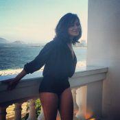 Dira Paes diz se achar bonita e sensual:  'Tenho uma bunda bem brasileira'