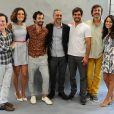 O elenco é composto por Juliano Cazarré, Wagner Moura, Sophie Charlotte e Matheus Nachtergaele