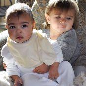Kim Kardashian posta foto da filha de 7 meses com a sobrinha: 'melhores amigas'