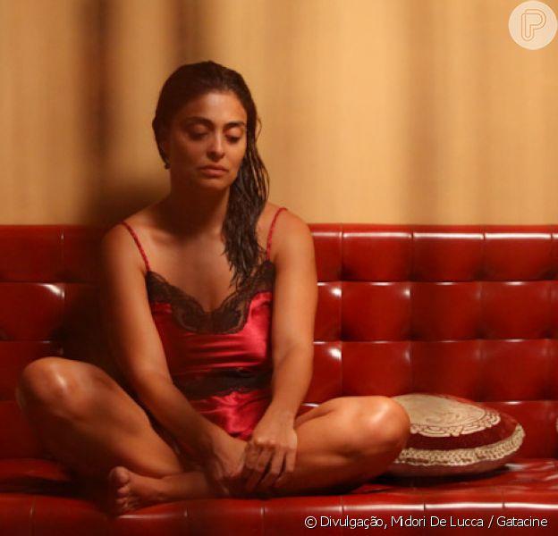 Juliana Paes vai aparecer apenas de tapa-sexo nas cenas íntimas com Nelson Xavier no filme 'A Despedida'
