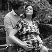Larissa Maciel comemora reta final da primeira gravidez: 'Te aguardamos'