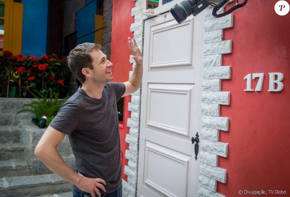 Tiago Leifert ganhou uma sala de controle para espiar os participantes do 'BBB17'