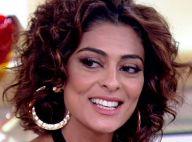 Fãs apontam falha na maquiagem de Juliana Paes no 'Encontro': 'Craquelada'