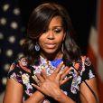 Michelle Obama chora em posse de Donald Trump e agita web: 'Vem pra cá'. Vídeo foi postado nesta sexta-feira, 20 de janeiro de 2017