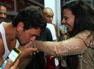 Carnaval: João Vicente de Castro tieta Viviane Araujo em ensaio do Salgueiro