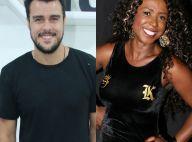 Joaquim Lopes fica sem graça após cantada de ex-BBB Adélia: 'No meu livrinho'