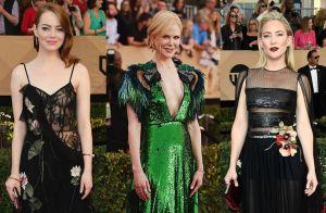 Brilho e araras: confira os looks de Nicole Kidman e outras famosas em premiação