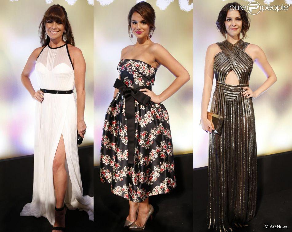 Atrizes de 'Em Família' capricham no look para a festa da nova novela das nove, realizada na noite deste domingo, 2 de fevereiro de 2014, no Copacabana Palace