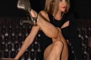 Fernanda Lima aparece sexy em coletiva e adianta sobre novo ensaio: 'Estou nua'