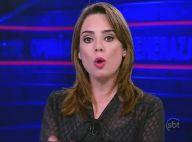 Rachel Sheherazade, do SBT, pode responder na Justiça por apologia ao crime