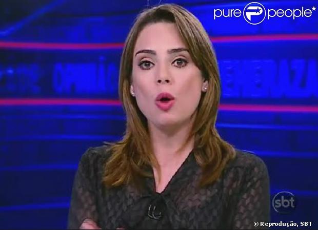 Rachel Sheherazade e o SBT poderão responder na Justiça por apologia ao crime (06 de fevereiro de 2014)
