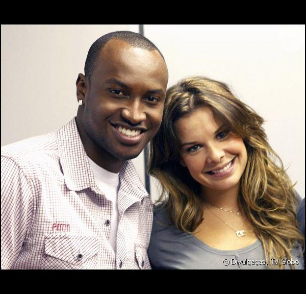 Thiaguinho participa do 'Encontro com Fátima Bernardes' e diz sobre sua relação com Fernanda Souza: 'Sou um pouco grudento' (6 de fevereiro de 2014)
