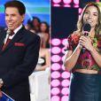 Silvio Santos dá pistas sobre a gravidez da filha Patrícia Abravanel no programa exibido no dia 19 de janeiro: 'Você está com uma cara de bolacha. Você está grávida?'