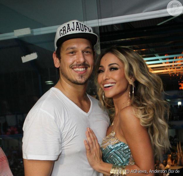 Sabrina Sato comemorou a boa fase na carreira, carreira e no relacionamento com João Vicente