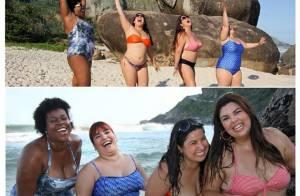 Simone Gutierrez sobre fotos de biquíni em prol das gordinhas: 'Respeito'