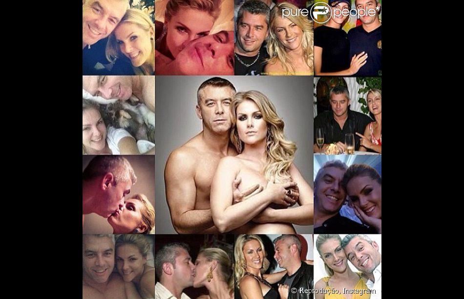 Ana Hickmann e Alexandre Corrêa comemoram 16 anos de casados, em 14 de fevereiro de 2014