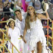 Ivete Sangalo voltará a desfilar com marido e filho nas campeãs: 'Vêm todos'