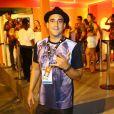 André Marques curtiu o desfile das campeãs do Rio