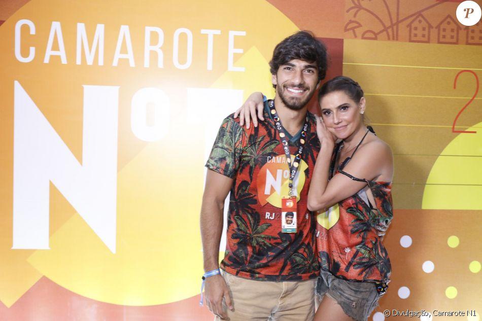 Deborah Secco e Hugo Moura no Camarote N1