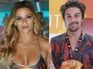Carnaval: Jade Barbosa e Raphael Sander se beijam em camarote da Sapucaí