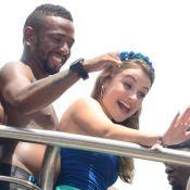 Nego do Borel vive romance com a modelo Julia Schiavi: 'Nova namorada'