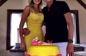 Roberto Justus dá um carro de presente de aniversário para Ana Paula Siebert