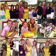 Ana Paula Siebert convidou 28 pessoas de sua família para a festinha de seu aniversário no sítio de seu namorado, Roberto Justus