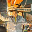 No Carnaval do ano passado, Boni desfilou no carro abre-alas da São Clemente