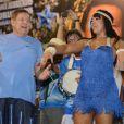 Raissa de Oliveira elogia Boni: 'Está sempre presente na quadra da escola e no barracão'