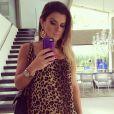Mirella Santos, casada com Wellington Muniz, está grávida de uma menina, em 19 de fevereiro de 2014