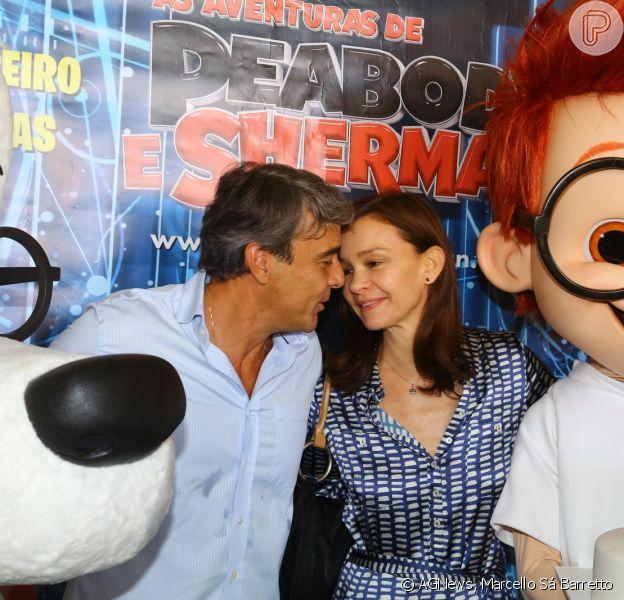 Alexandre Borges Comemora Aniversario Com Julia Lemmertz Em Pre