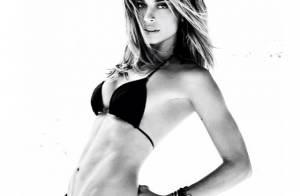 Grazi Massafera posa de biquíni para revista e chama atenção para corpo perfeito
