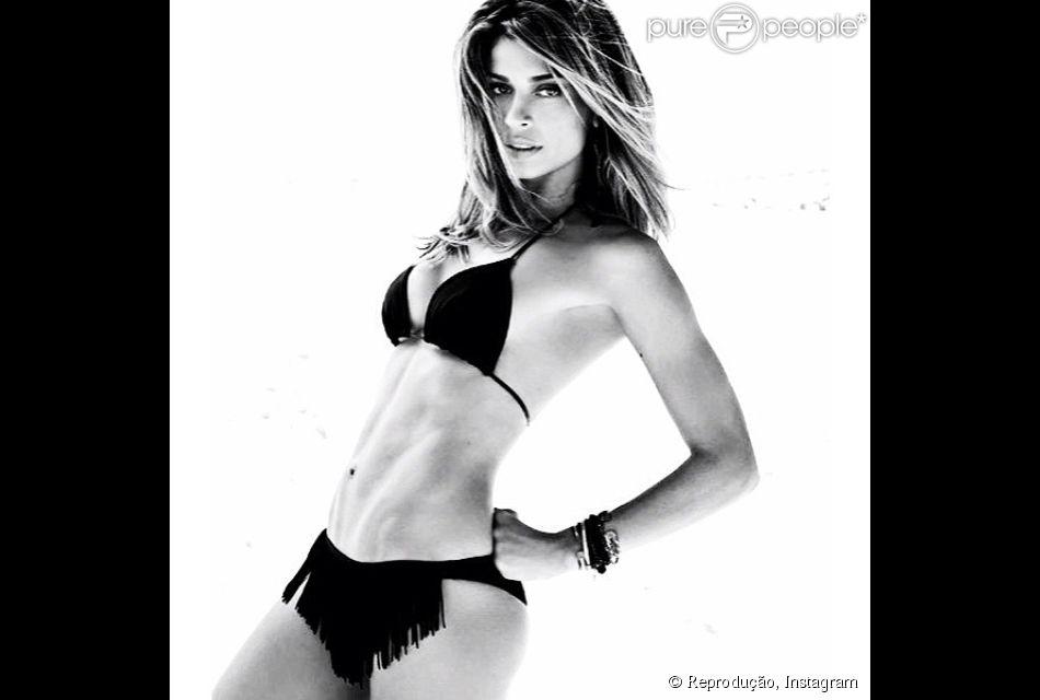 Em excelente forma física, Grazi Massafera posou para o fotógrafo Ale de Souza para a capa da revista 'Vip' de março. Nesta segunda-feira, 24 de fevereiro de 2014, a assessora da atriz publicou alguns cliques em seu Instagram e elogiou: 'Tipo gata'