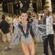 Em São Paulo, Sabrina desfila à frente da Gaviões da Fiel: 'Na verdade, fui comendo pelas beiradas, conquistando as pessoas aos poucos', diz