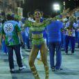 """Rainha de bateria da escola de samba carioca Vila Isabel, Sabrina também é rainha em Saõ Paulo e, para ela, tudo é muito natural: '""""Ai, gente! Sou tão carioca quanto paulista. Não sou de Penápolis, sou do mundo'"""