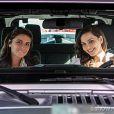 Clara (Giovanna Antonelli) ganha uma super desta de aniversário preparada por Marina (Tainá Müller), na novela 'Em Família'